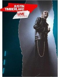 Cover Justin Timberlake - Live From London [DVD]